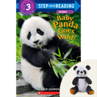 Baby Panda Goes Wild! Book Plus Plush