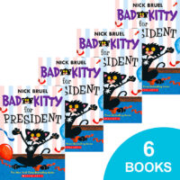Bad Kitty for President 6-Book Pack