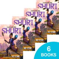 Shuri: A Black Panther Novel 6-Book Pack