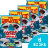 Who Would Win?® Ultimate Shark Rumble 6-Book Pack