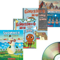 Snowmen and Gingerbread Man Audio Library