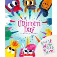 Unicorn Day Plus Stickers