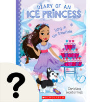 Diary of an Ice Princess: Icing on the Snowflake Book Plus Necklace