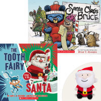 Super Santa Set 2 Books and Plush