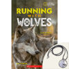 National Geographic: Running with Wolves Plus Pendant