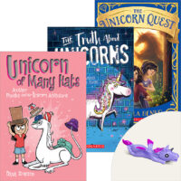 Unicorn Fun Books Plus Unicorn Flinger