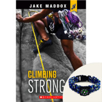 Jake Maddox JV: Climbing Strong Plus Compass Bracelet