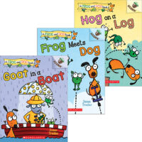 A Frog and Dog Pack