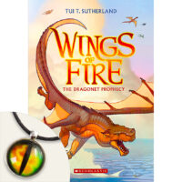 Wings of Fire #1: The Dragonet Prophecy Plus Dragon-Eye Pendant
