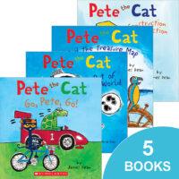 Pete the Cat Fun 5-Pack