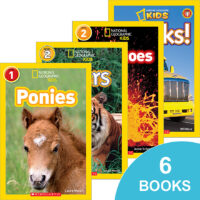 National Geographic Kids™ Reader 6-Pack