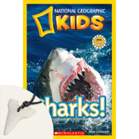 National Geographic Kids™: Sharks! Plus Necklace