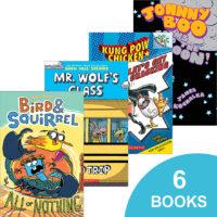 Graphic Novel 6-Pack: Grades 2–3