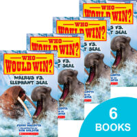 Who Would Win?® Walrus vs. Elephant Seal 6-Book Pack