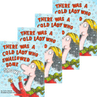 There Was a Cold Lady Who Swallowed Some Snow! 4-Book Pack