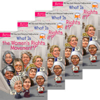 What Is the Women's Rights Movement? 4-Book Pack