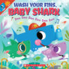 Wash Your Fins, Baby Shark Plus Face Mask