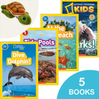National Geographic Kids™ Under the Sea Books Plus Plush