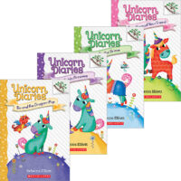 Unicorn Diaries #1–#4 Pack