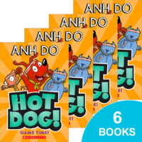 Hotdog! #4: Game Time! 6-Book Pack