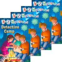 A to Z Mysteries® Super Edition #1: Detective Camp 4-Book Pack