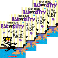 Bad Kitty Meets the Baby 4-Book Pack