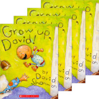 Grow Up, David! 4-Book Pack