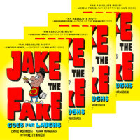 Jake the Fake Goes for Laughs 4-Book Pack