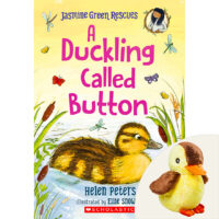 Jasmine Green Rescues: A Duckling Called Button Plus Plush