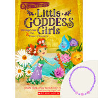 Little Goddess Girls: Persephone & the Giant Flowers Plus Necklace