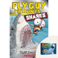 Fly Guy Presents: Sharks Plus Dig It Up! Shark Teeth Kit