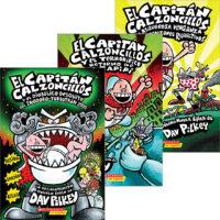 Paquete Las aventuras del Capitán Calzoncillos