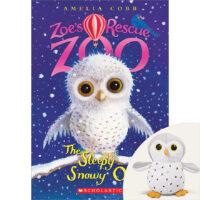 Zoe's Rescue Zoo: The Sleepy Snowy Owl Plus Plush