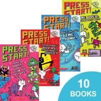Press Start! #1–#10 Pack
