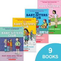 The Baby-Sitters Club® Graphix #1–#9 Pack