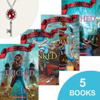 Fairy Tale Reform School: 5 Books Plus Necklace