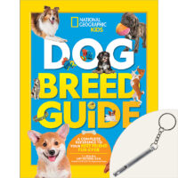 National Geographic Kids™ Dog Breed Guide Plus Dog Whistle Toy