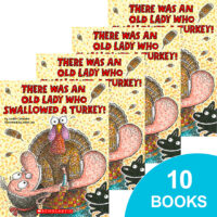 There Was an Old Lady Who Swallowed a Turkey! 10-Book Pack
