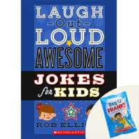 Laugh-Out-Loud Awesome Jokes for Kids Plus 3 Pranks