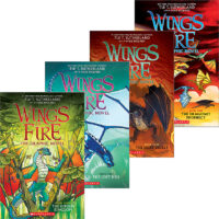 Wings of Fire: The Graphic Novel, Books 1–4 Pack