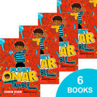 Planet Omar: Accidental Trouble Magnet 6-Book Pack