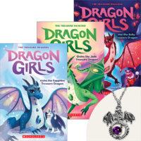 Dragon Girls Books Plus Necklace