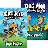 Dog Man and Cat Kid Supa Duo<br>