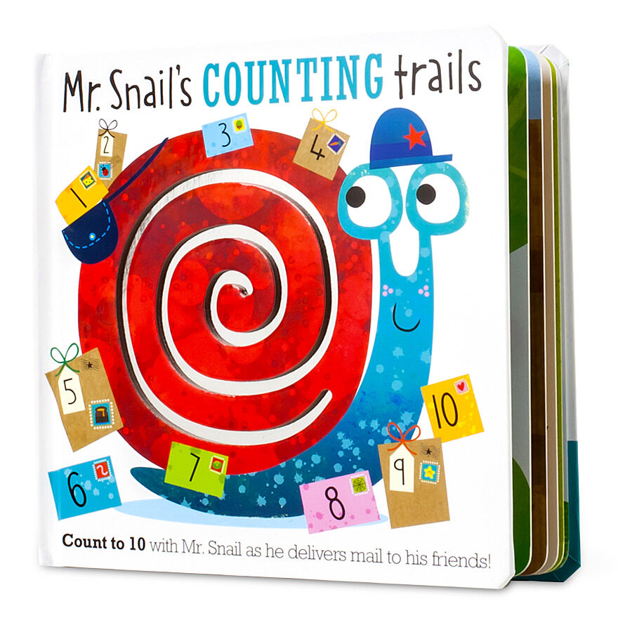 Mr. Snail's Counting Trails by Stuart Lynch (Lift-the-Flap Book) |  Scholastic Book Clubs