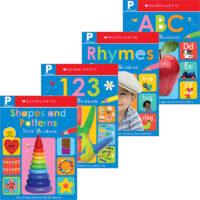 Scholastic Early Learners: PreK Skills Workbook Pack
