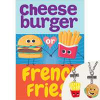 Cheeseburger or French Fries? Plus BFF Necklaces