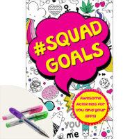 #Squad Goals Plus Scented Gel Pens