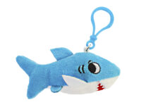 Shark Plush Backpack Clip