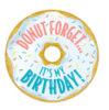 Birthday Donut Sticker Badges (36 ct.)
