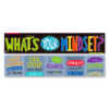 What's Your Mindset Double-Sided Banner